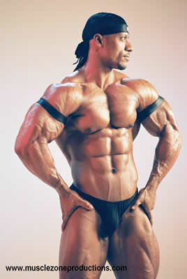 Bodybuilder Sami al Haddad